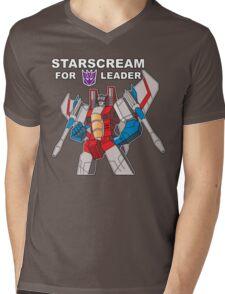 Starscream For Decepticon Leader Mens V-Neck T-Shirt