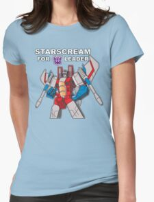 Starscream For Decepticon Leader Womens Fitted T-Shirt