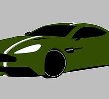 Aston Martin Vanquish  by KurtlyA