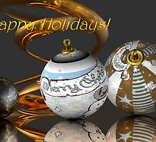 Happy Holidays by Desirée Glanville