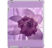 Lilac Daffodil iPad Case/Skin