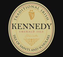 Irish Names Kennedy by thehappyiceman7