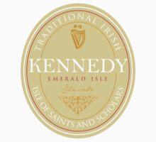 Irish Names Kennedy One Piece - Short Sleeve