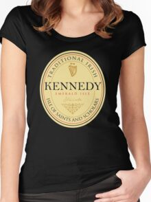 Irish Names Kennedy Women's Fitted Scoop T-Shirt