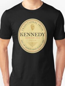 Irish Names Kennedy Unisex T-Shirt