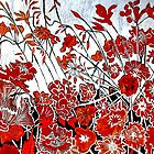 Symphony in Red by Belinda &quot;BillyLee&quot; NYE (Printmaker)
