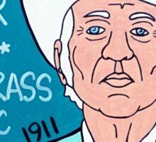 Bill Monroe Bluegrass Pop Folk Art Sticker