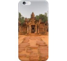 Banteay Srei, Seim Reap iPhone Case/Skin