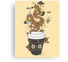Awaken Coffee Canvas Print
