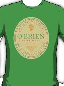 Irish Names O'Brien T-Shirt