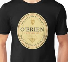 Irish Names O'Brien Unisex T-Shirt