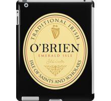 Irish Names O'Brien iPad Case/Skin