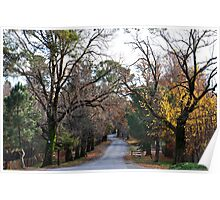 Beyers Avenue - Hill End NSW Australia Poster