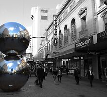 Mall's Balls - Rundle Mall by Jack Marr