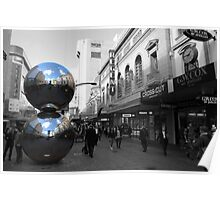 Mall's Balls - Rundle Mall Poster