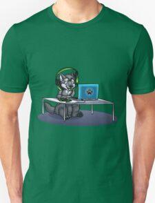 Little Gamer Wolf Unisex T-Shirt