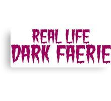Dark Faerie Canvas Print