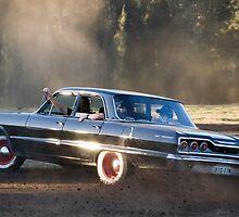 """Chevrolet Shenanigans"" at Webbys Mud Run by John Haig"