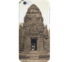 Ta Keo, Siem Reap iPhone Case/Skin