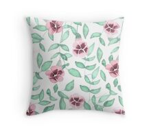 Floral Vine Throw Pillow