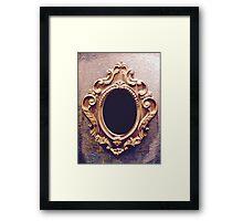 Magic mirror on the wall Framed Print