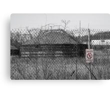 Danger! Keep Out! Canvas Print