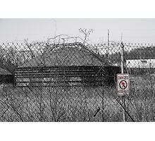 Danger! Keep Out! Photographic Print