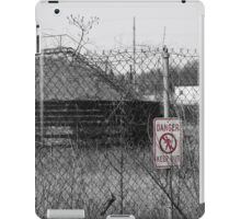 Danger! Keep Out! iPad Case/Skin