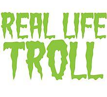 Real Life Troll Photographic Print