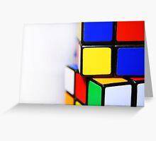 Rubik's Cube Greeting Card