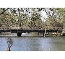Old Bridge at Major Creek Reserve, Victoria Photographic Print