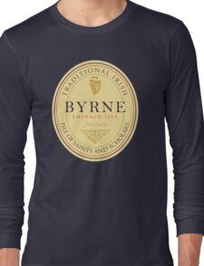 Irish Names Byrne Long Sleeve T-Shirt