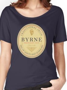 Irish Names Byrne Women's Relaxed Fit T-Shirt