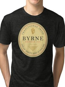 Irish Names Byrne Tri-blend T-Shirt