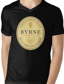 Irish Names Byrne Mens V-Neck T-Shirt