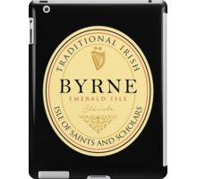Irish Names Byrne iPad Case/Skin