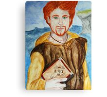 Saint Comgall of Bangor Canvas Print