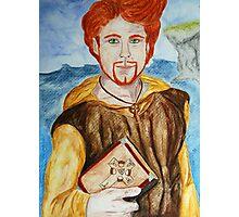 Saint Comgall of Bangor Photographic Print