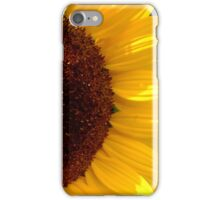 Good Morning, Mrs. Sunflower iPhone Case/Skin
