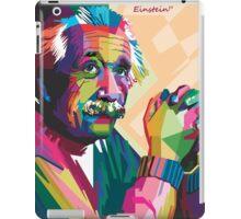 albert einstein WPAP iPad Case/Skin