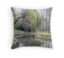 Floriade Throw Pillow