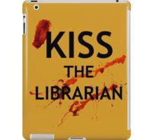 Spike's Kiss the Librarian Mug iPad Case/Skin
