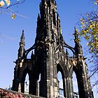 The Scott Monument by Lynne Morris