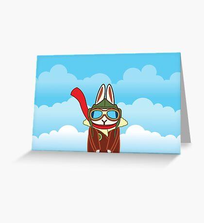 Bun Baron Greeting Card