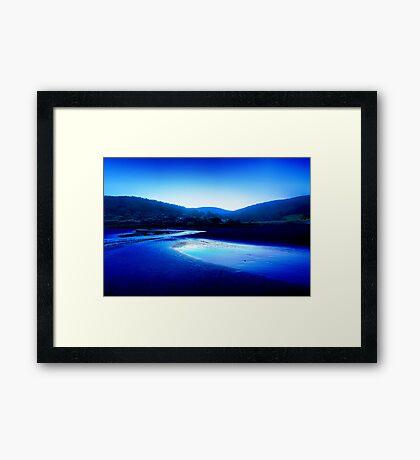 Kennett River Sunset in HDR - Great Ocean Road Australia Framed Print