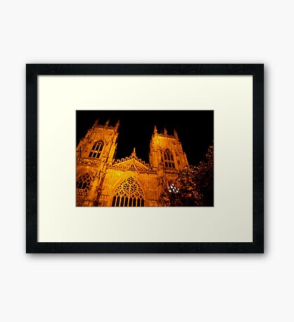 York Minster - 2 Framed Print
