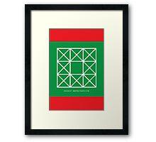 Design 257 Framed Print