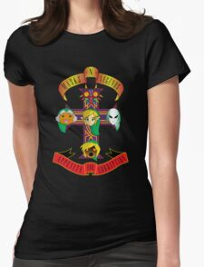 Masks and Legends Womens Fitted T-Shirt