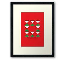 Design 256 Framed Print