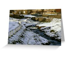 Hutton Beck - Hutton-le-Hole Greeting Card